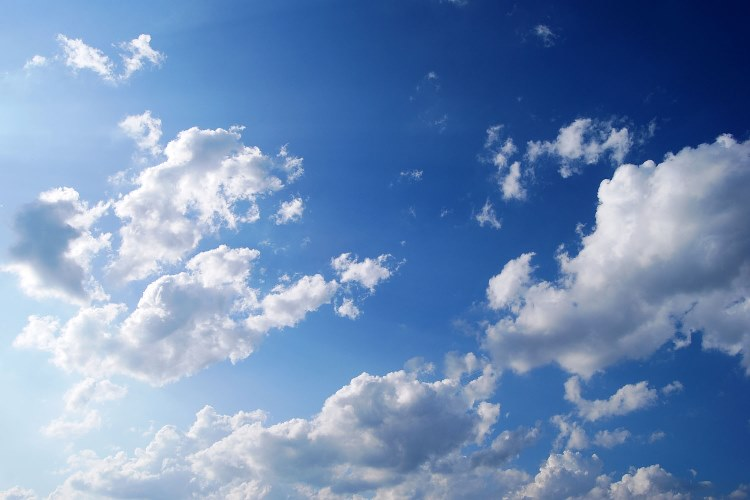 Himmel Blue Sky Wallpaper