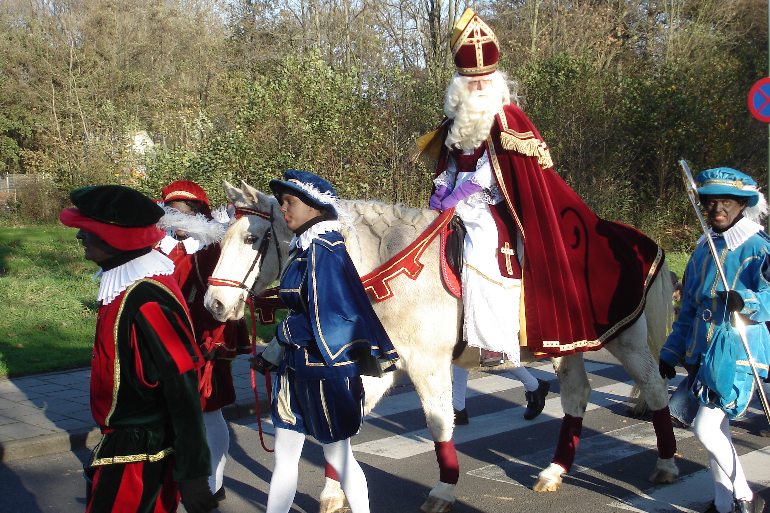 Sinterklaas und die schwarzen Pieten_Bild VVV Texel